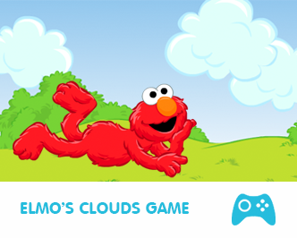 elmo's clouds game